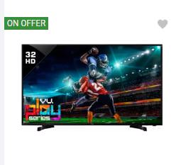 TVs upto 48% off + upto Rs. 22000 off (Exchange) – FlipKart