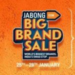 Jabong Republic Day Sale : Jabong Big Brand Sale | 25th - 28th January | Upto 80% off