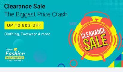 Clothing, Footwear & Accessories Buy 1 Get 2 Free - Flipkart