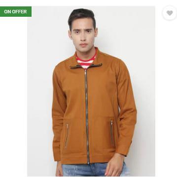 Upto 87% Off On SayItLoud Full Sleeve Solid Men Jacket Starting at Rs. 399 Only - Flipkart