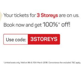 "Big loot - ""3 STOREYS"" Movie Tickets For Free - BookMyShow 3STOREYS"
