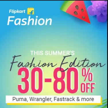 Flipkart This Summer's Fashion Edition