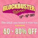 Myntra Blockbuster Sale - All Deals at One Place