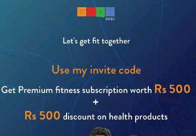 Goqii Referral Code - Get 500 GOQii Cash + 1 Month Free Coaching - Goqii Refer Code