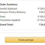Amazon Pantry Products @ Rs.1