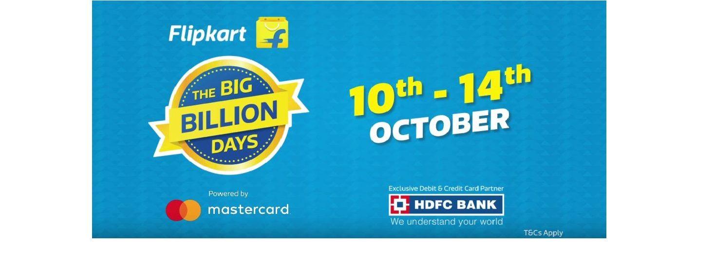 Flipkart Big Billion Days 2018 Sale