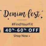 Amazon Men's Denim Fest | 40% - 60% Off