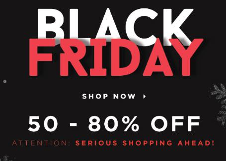 Jabong Black Friday - 23rd November Sale - Black Friday Sale in India