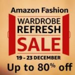 Amazon Fashion Wardrobe Refresh Sale : 19 - 23 December