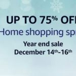 Amazon Home Shopping Spree - Year End Sale