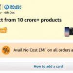 Amazon No Cost EMI Fest