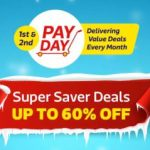 FlipKart Pay Day - Upto 60% + Extra 10% Off