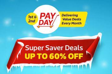 FlipKart Pay Day - Upto 60% + Extra 10% Off