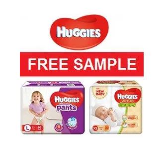 Huggies Diapers Free Sample | Get a Free Sample of Huggies Diapers