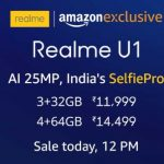 Realme U1 @ Rs.11999 - Realme U1 | Amazon Launch New Mobile | Realme U1 India's Selfie Pro | Oppo New Mobile