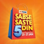 Big Bazaar Rs. 150 off on Rs. 1000 coupon - Big Bazaar Republic Day Offers ( 23 - 27 JAN )