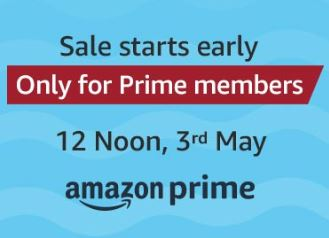 [Prime Members] Amazon Summer Sale - 3 May 12PM Sale