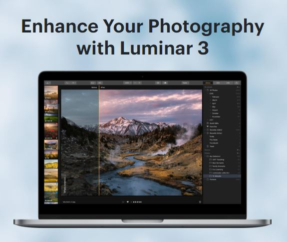 FREE - Luminar 3 Professional Photo Editing Software : Luminar