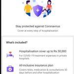 CoronaVirus Insurance India - Get Coronavirus Insurance at Just Rs.156 | Get Cover up to Rs 50000 : Phonepe