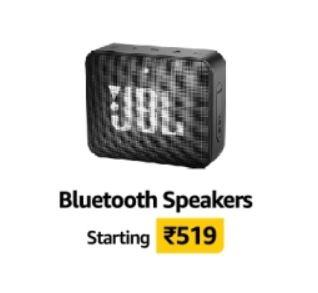 Bluetooth Speakers Starting 519 - Amazon Great Indian Sale