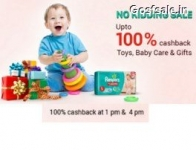 Toys, Baby Care & Gifts 100% Cashback – PayTm