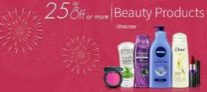 Beauty, Health & Personal Care 25% off or more from Rs. 26 – Amazon
