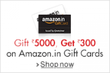 Free Rs. 300 Amazon Gift Card on Purchase of Amazon Gift Cards worth Rs. 5000 – Amazon
