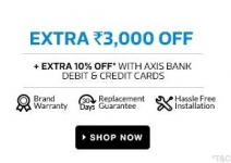 Extra Rs.3000 Off on Washing Machines – Flipkart 25 May Offers