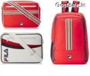 Fila Messenger Bags & Backpacks 50% off or more from Rs. 539 – Amazon