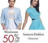 Clothing, Footwear & Accessories 50% off or more – Amazon
