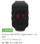 60% off on Fastrack Digital Watches – Flipkart