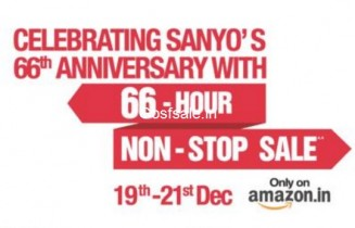 66 Hours of Non Stop Sale – 19th – 21st Dec : Sanyo 66th Anniversary : Sanyo Televisions Sale