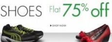Footwear 75% or more from Rs. 224 – Amazon