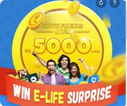 9Apps Enter Code : 9Apps Rs.5000 Cash : 9Apps Win E-Life Surprise