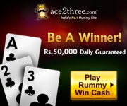 Ace2three Refer & Earn : Earn Rs.1000 Per Referral : Ace2Three Referral Program