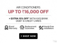 Upto Rs.16000 Off on Air Conditioners – Flipkart 25 May Deals
