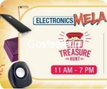 Amazon App Treasure Hunt Answers  : 8th September : Electronics Mela 8-9th September