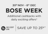 Amazon Bose Week