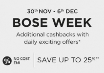 Amazon Bose Week