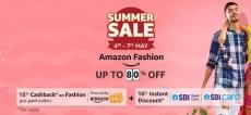 Amazon Fashion 15% Cashback on Purchase of Rs. 5000