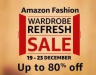 Amazon Fashion Wardrobe Refresh Sale : 19 – 23 December
