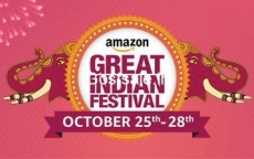 Amazon GREAT INDIAN FESTIVAL || 25-28 OCT  : 25th October Sale – Amazon Bank Offers