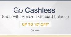 Amazon Gift Card Balance Top-up Offers : Rs.500 off on Rs.5000 Top Up