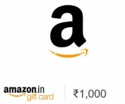Amazon Gift Card Offers : Rs. 50 off on Rs. 1000, Rs. 100 off on Rs. 2000, Rs. 150 off on Rs. 3000