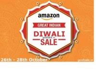 Amazon Great Indian Diwali Sale : 26th,27th & 28th October : Amazon Diwali Sale