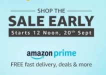 Amazon Great Indian Festival Prime Sale – 20th Sep Sale ( Only For Prime Members)