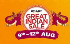 Amazon Great Indian Sale 2017 : Amazon Great Indian Sale 9th August Sale : 9 – 12 August 2017