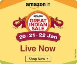 Amazon Great Indian Sale 2017 : Amazon Great Indian Sale 20th Jan Sale – 20 – 22 Jan 2017
