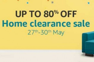 Amazon Home Clearance Sale 27th – 30th May