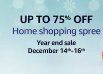 Amazon Home Shopping Spree – Year End Sale